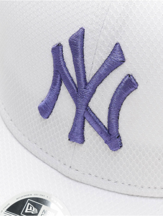 New Era Snapback Cap MLB New York Yankees Womens Diamond Era white