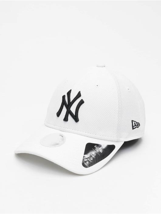New Era Snapback Cap Womens Diamond Era 9Forty white