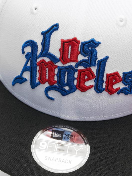 New Era Snapback Cap NBA20 Los Angeles Clippers City Alt EM 9Fifty white