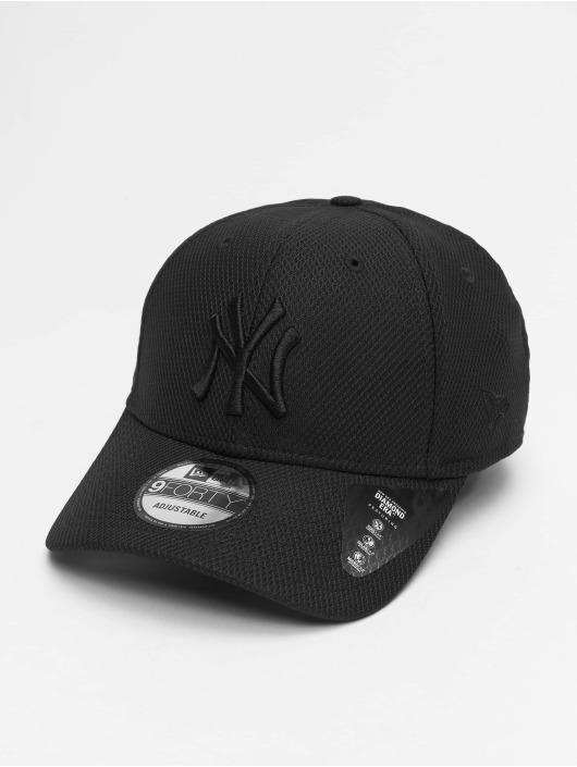 New Era snapback cap MLB NY Yankees Mono Team Colour zwart