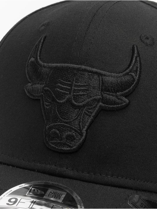 New Era snapback cap NBA Chicago Bulls Tonal Black 9Fifty zwart