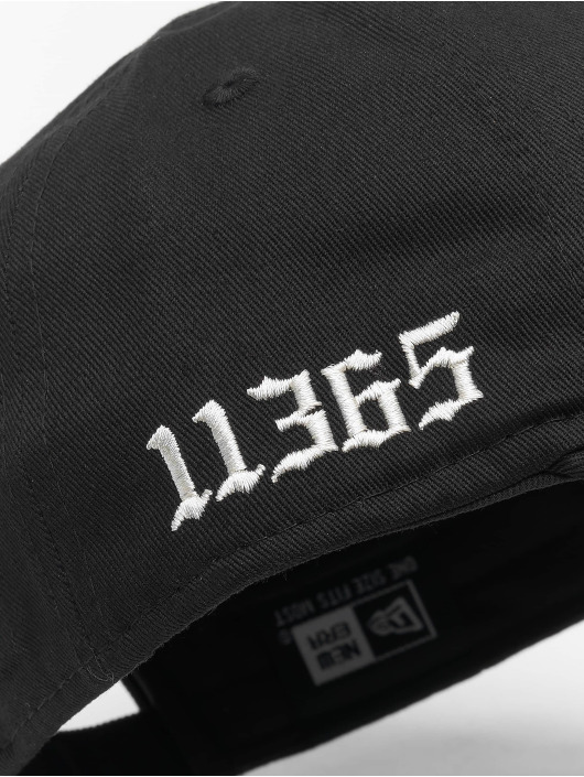 New Era snapback cap Borough zwart