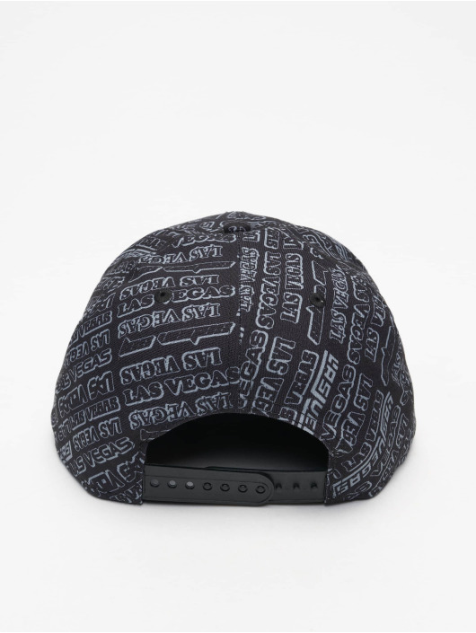 New Era snapback cap M 9Fifty Allover B6 Las Vegas Raiders zwart