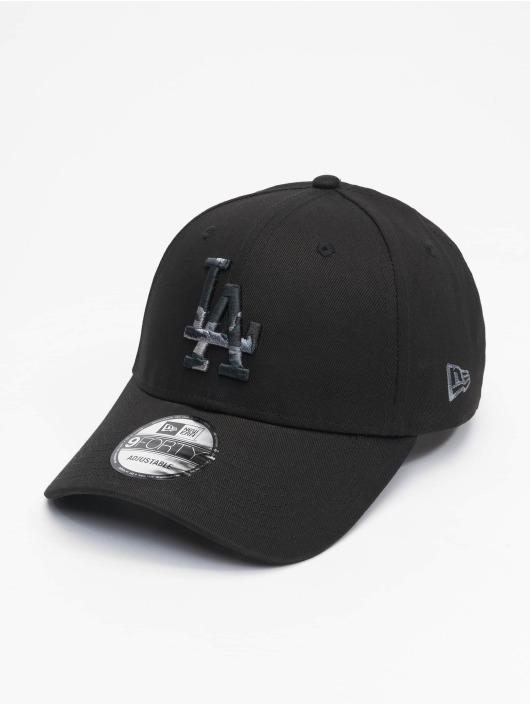New Era snapback cap Mlb Properties Los Angeles Dodgers Camo Infill 9forty zwart