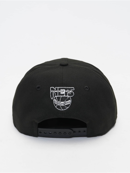 New Era snapback cap NBA 950 Brooklyn Nets Hardwood Classics Nights 2021 zwart