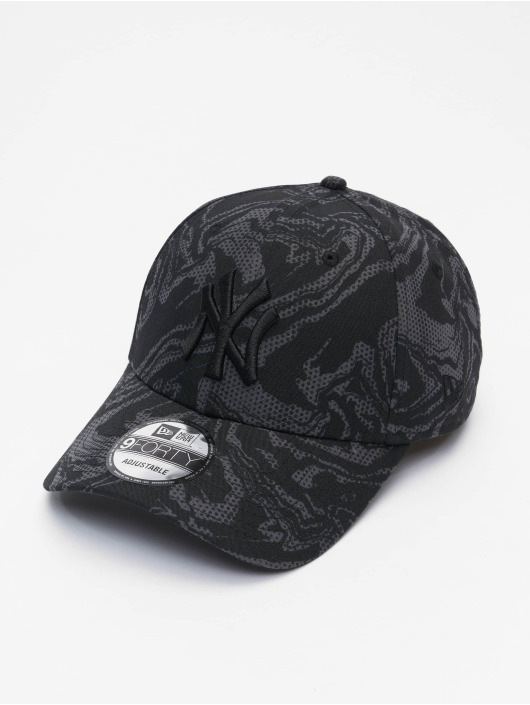 New Era snapback cap MLB New York Yankees NE Seasonal Camo 9Forty zwart