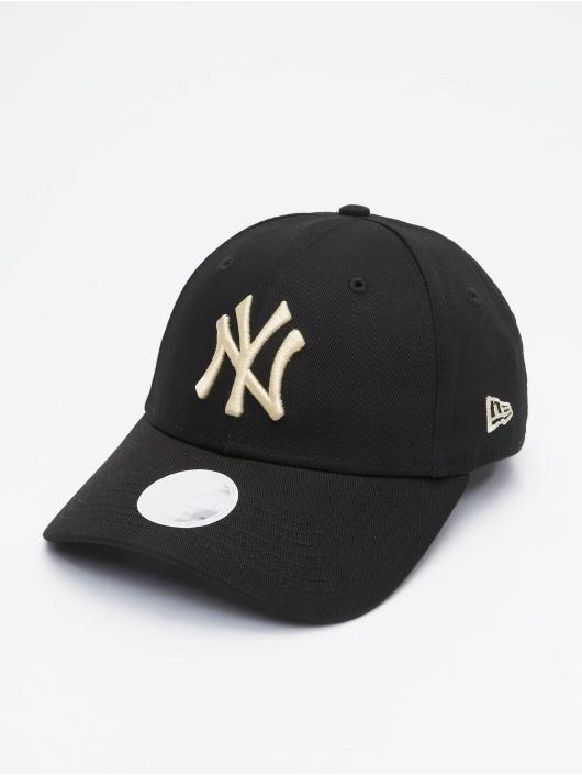 New Era Snapback Caps MLB NY Yankees Womens League Essential čern