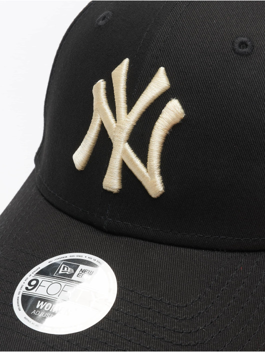 New Era Snapback Caps MLB NY Yankees Womens League Essential čern