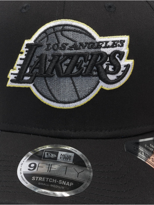New Era Snapback Caps Nba Properties Los Angeles Lakers Neon Pop Outline 9fifty čern