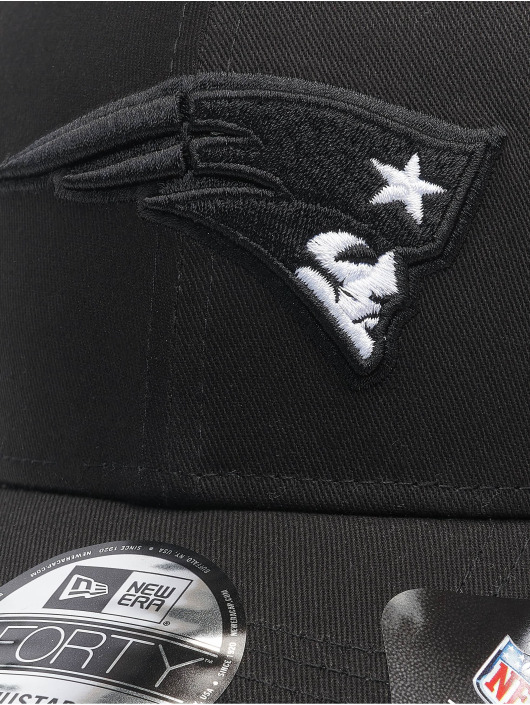 New Era Snapback Caps Nfl Properties New England Patriots Black Base 9forty čern