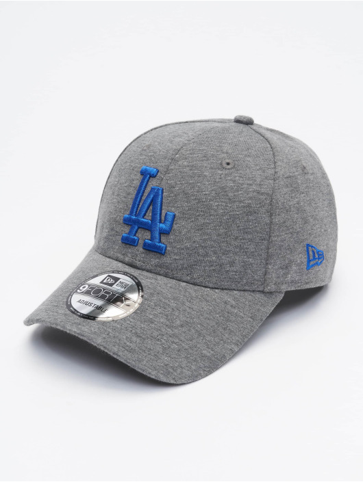 New Era Snapback Caps MLB LA Dodgers Jersey Essential šedá