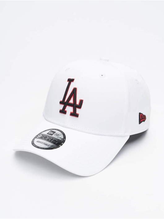 New Era Snapback Caps MLB LA Dodgers Korean bílý