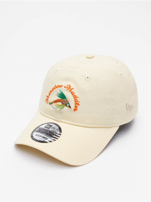 New Era Snapback Caps NE Fishing Tackle 9Twenty beige