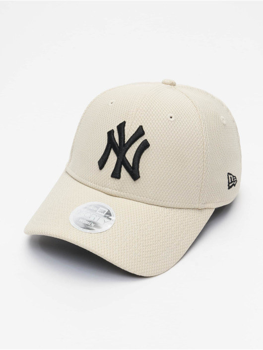 New Era Snapback Caps MLB New York Yankees Diamond Era 9Forty bezowy