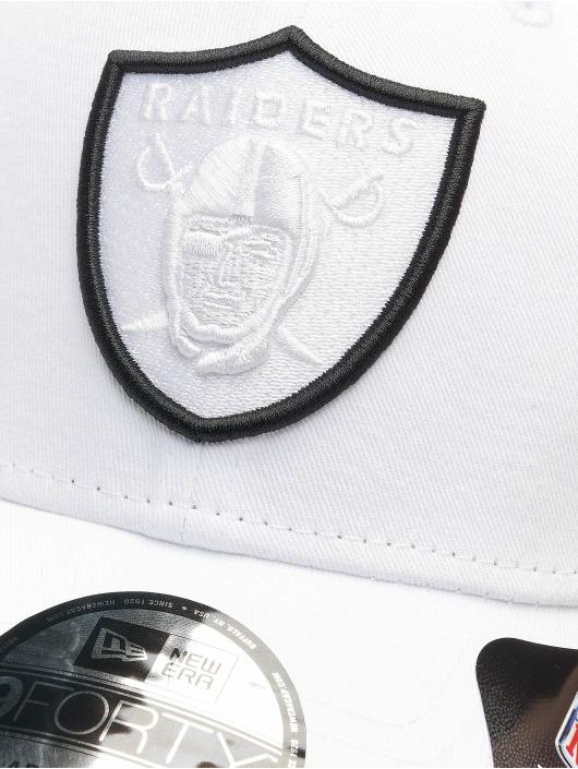 New Era Snapback Caps NFL Oakland Raiders 9Forty bialy