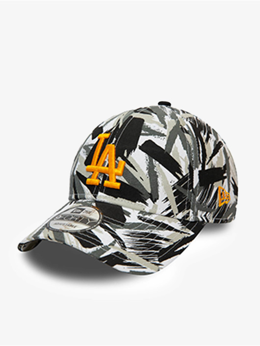 New Era Snapback Caps MLB Los Angeles Dodgers New Camo 9Forty bialy
