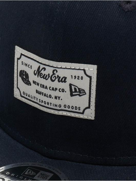 New Era Snapback Caps Script Patch 9fifty blå