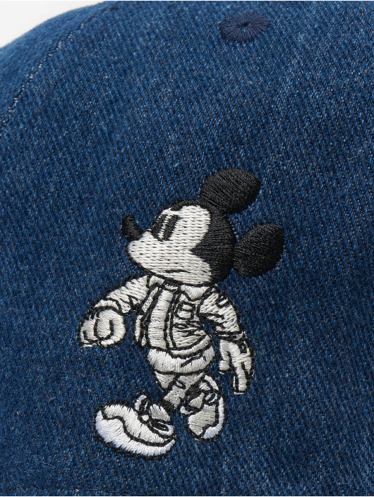 New Era Snapback Caps Disney Mickey Mouse Street Mickey Denim 9fifty blå
