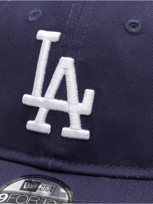 New Era Snapback Caps MLB LA Dodgers League Essential Td 9Forty blå