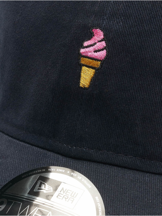 New Era Snapback Caps Brushed Icons 9Twenty blå