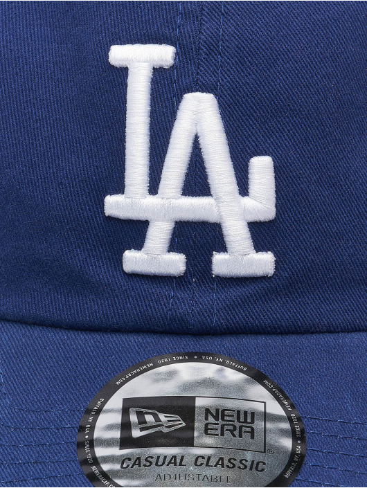 New Era Snapback Caps MLB Los Angeles Dodgers Washed CSCL 9Twenty blå