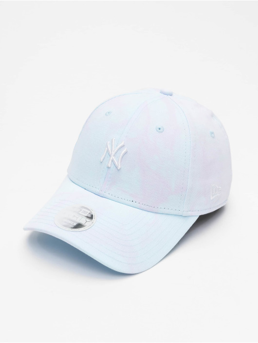 New Era Snapback Caps MLB New York Yankees Womens Tie Dye 9Forty blå