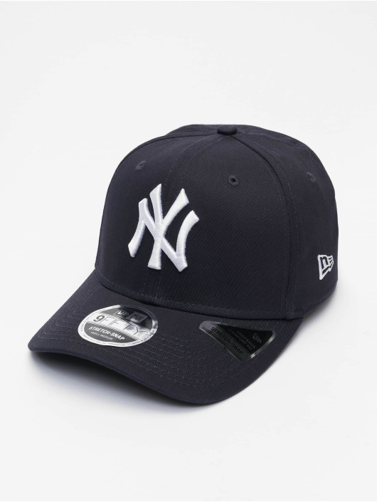 New Era Snapback Caps MLB New York Yankees Team Stretch 9Fifty blå