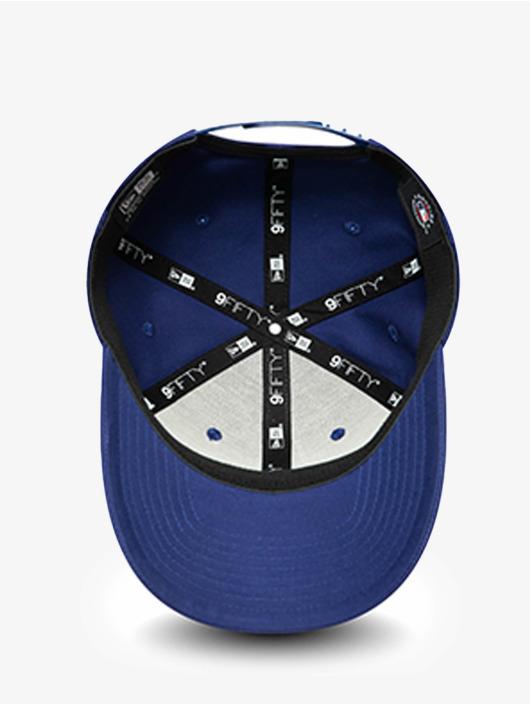 New Era Snapback Caps MLB Los Angeles Dodgers Team Outline 9Fifty Stretch blå