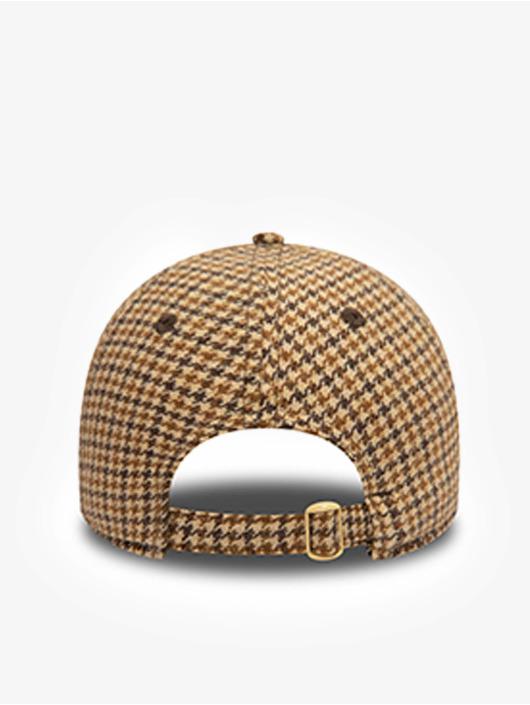 New Era Snapback Caps Check 9Twenty brazowy