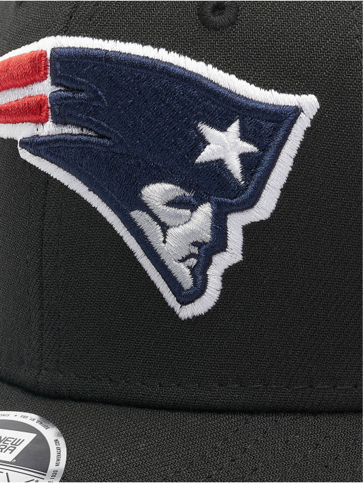 New Era Snapback Caps NFL Stretch Snap New England Patriots 9fifty czarny