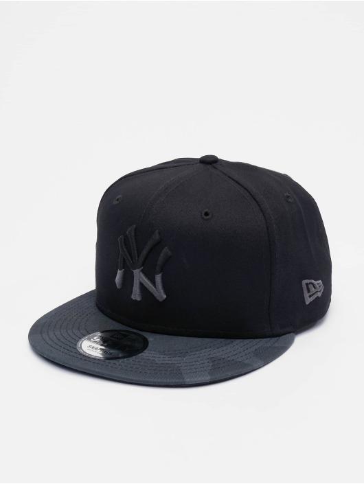 New Era Snapback Caps MLB Camo Essential NY Yankees 9Fifty czarny