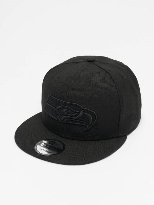 New Era Snapback Caps NFL Seattle Seahawks 9Fifty czarny