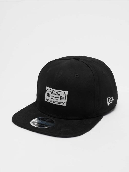 New Era Snapback Caps Script Patch 9fifty czarny