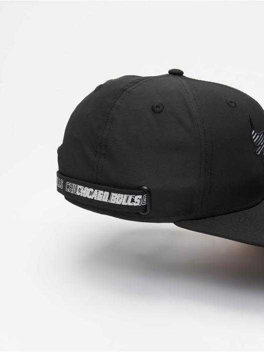New Era Snapback Caps NBA Chicago Bulls Monotape PC 9Fifty czarny