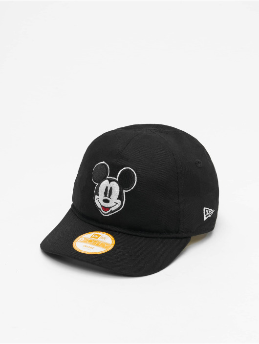 New Era Snapback Caps Mickey Mouse Disney Black Base 9Forty czarny