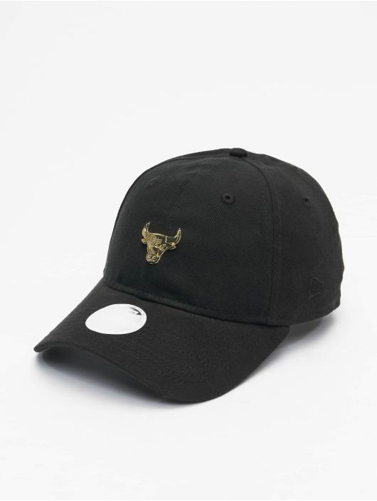 New Era Snapback Caps NBA Chicago Bulls Badge Slck WLS920 czarny
