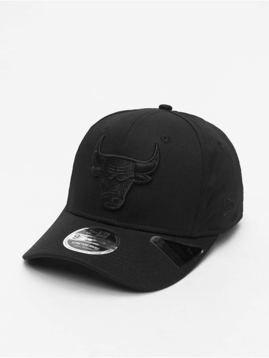 New Era Snapback Caps NBA Chicago Bulls Tonal Black 9Fifty czarny