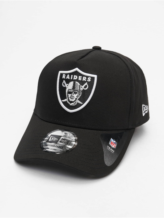 New Era Snapback Caps NFL Oakland Raiders Closed Back 940 Aframe czarny