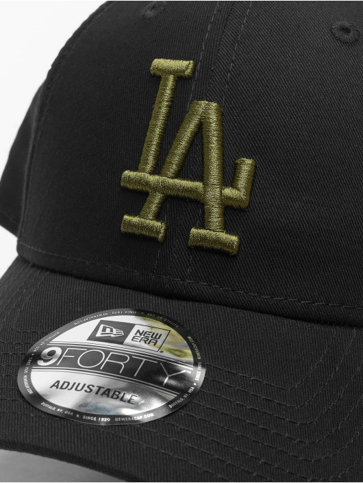 New Era Snapback Caps MLB LA Dodgers Essential 9Forty czarny