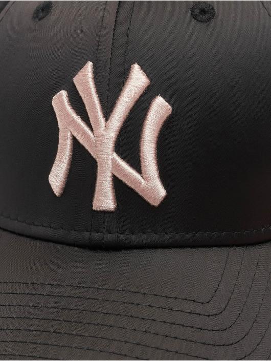 New Era Snapback Caps MLB NY Yankees Satin 9Forty czarny