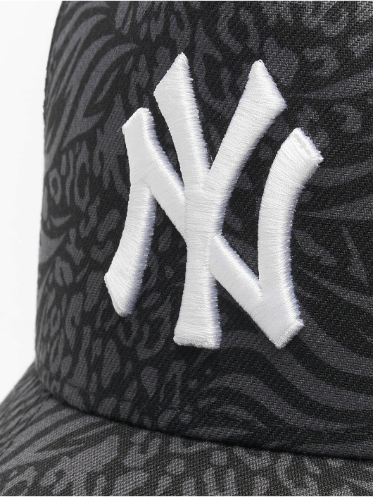 New Era Snapback Caps MLB New York Yankees Trucker Hook czarny