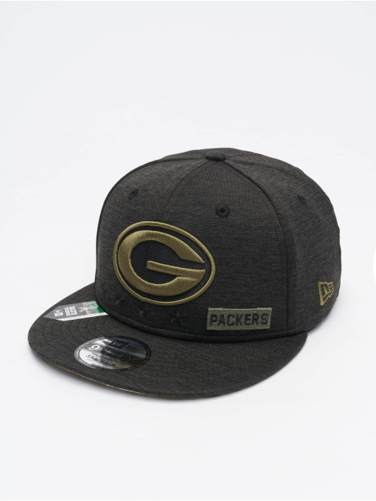 New Era Snapback Caps NFL 20 STS EM 9Fifty Green Bay Packers czarny