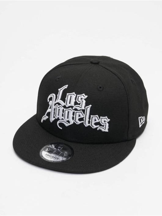 New Era Snapback Caps NBA20 Los Angeles Clippers City Off EM 9Fifty czarny
