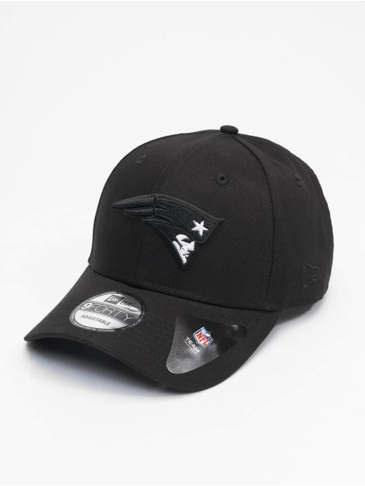 New Era Snapback Caps Nfl Properties New England Patriots Black Base 9forty czarny