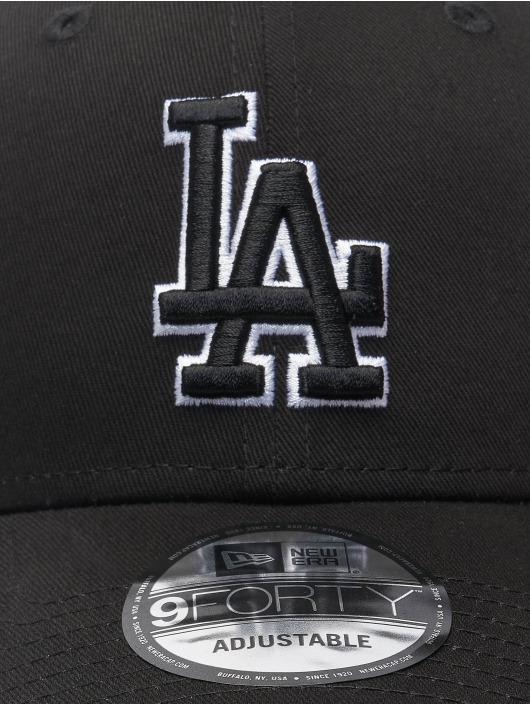 New Era Snapback Caps Mlb Properties Los Angeles Dodgers Black Base 9forty czarny