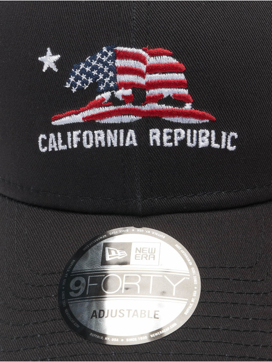 New Era Snapback Caps  czarny