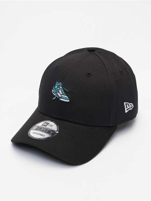 New Era Snapback Caps NE Sports 9Forty czarny