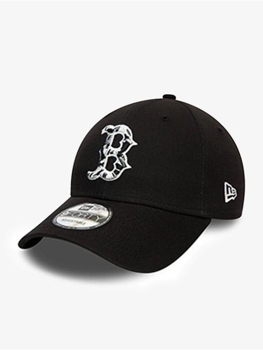 New Era Snapback Caps MLB Boston Red Sox Camo Infill 9Forty czarny