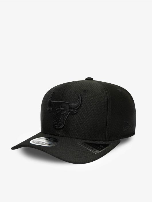 New Era Snapback Caps NBA Chicago Bulls Tonal Team 9Fifty Stretch czarny