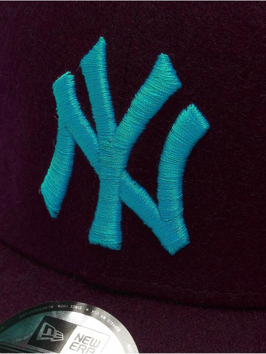 New Era Snapback Caps MLB NY Yankees Melton 9Forty czerwony
